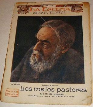 """Traduction argentine des """"Mauvais bergers"""", 1920"""