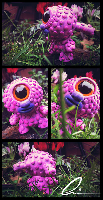 Willow Winterbottom Custom 3 Inch Dunny by UME Toys