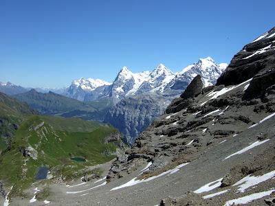 Jungfrau Region from the Sefinenfurke