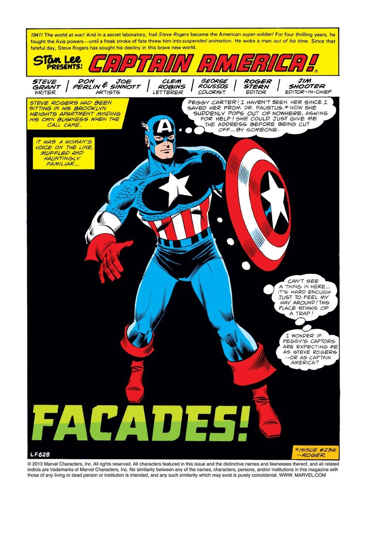 Captain America (1968) Issue #242 #157 - English 2