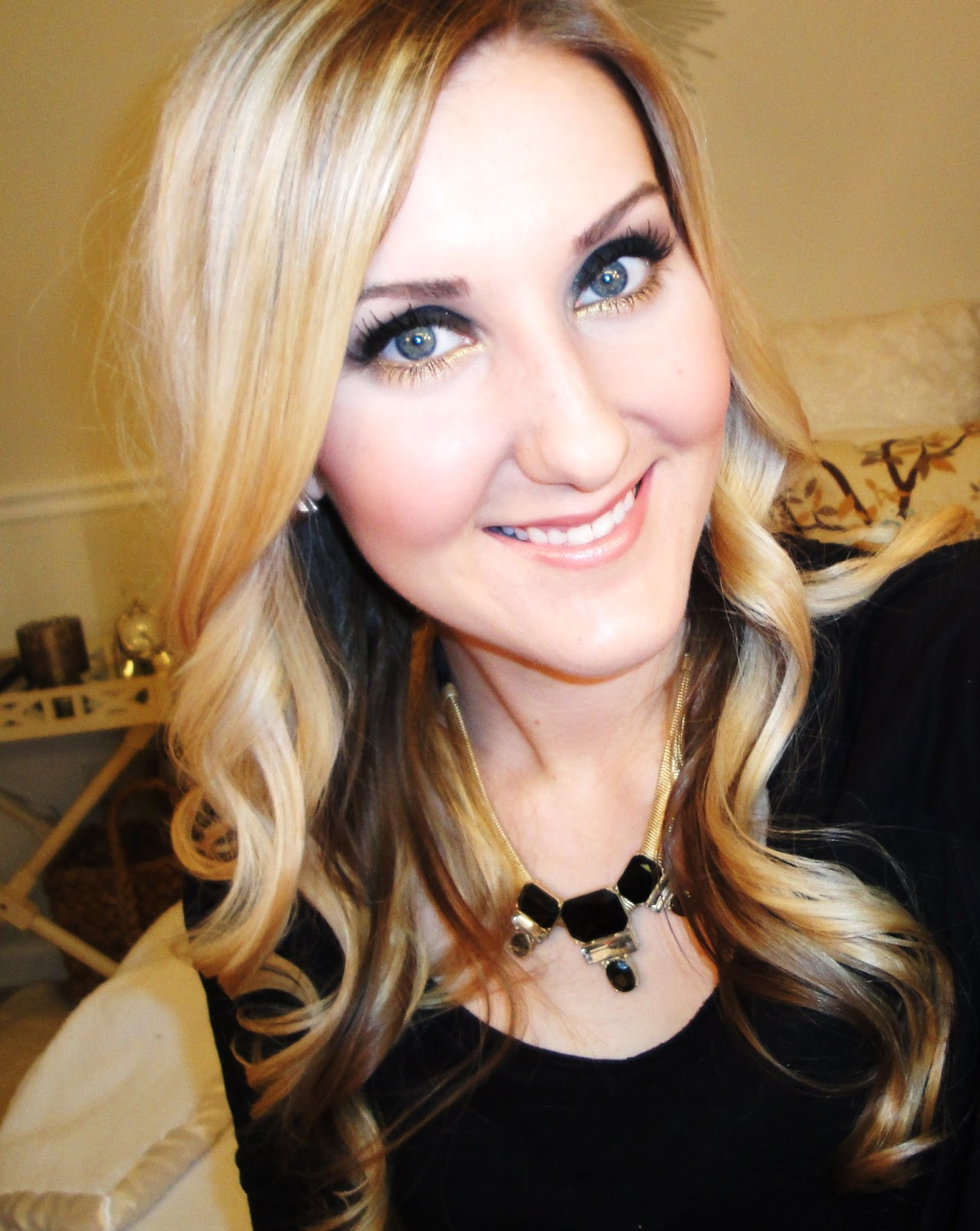 TiffanyD: New Yearu0026#39;s Eve Makeup Tutorial and Outfit