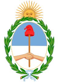 ESCUDO NACIONAL ARGENTINO. Fiesta 12 de Marzo.