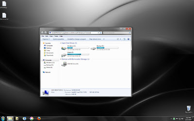 Screenshot Windows 7 OEM Laptop Series