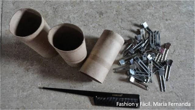 Reciclar rollos de papel higiénico en Recicla Inventa
