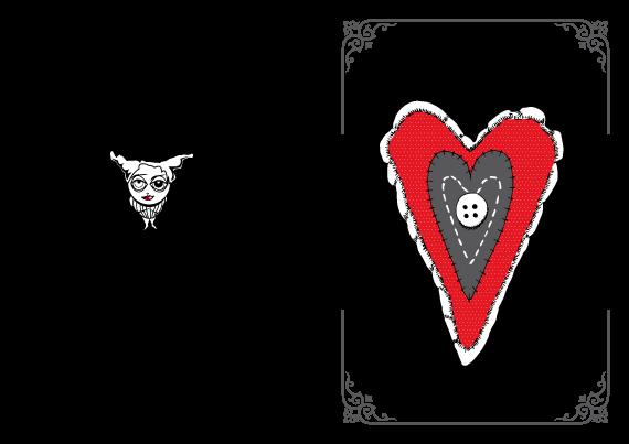 Tarjeta de San Valentín para imprimir gratis