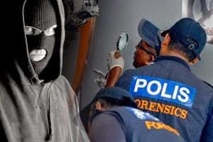 Suspek Godam Mesin ATM Disyaki Masih Di Malaysia