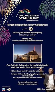 "Target Independence Day"": Oakland East Bay Symphony at the Craneway"
