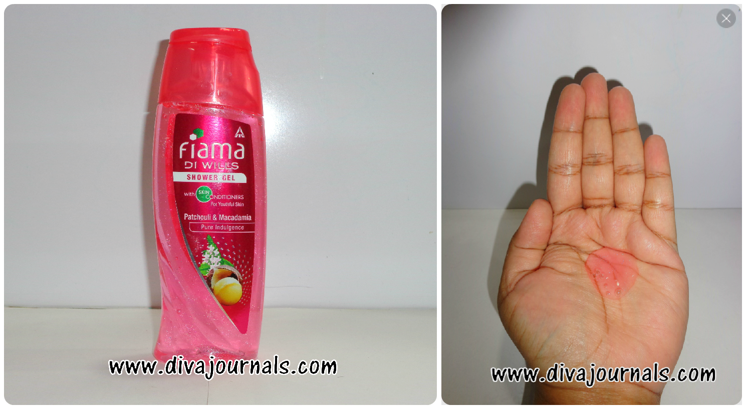 Fiama Di Wills Shower Gel - Couture Spa for Replenishing Care (Pink Bottle)