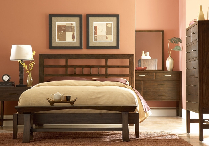 Color your world home interior design color ideas for Earth tone bedroom