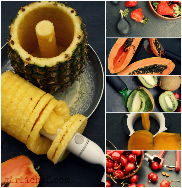 Summer Fruit Tools from @OXO | www.girlichef.com