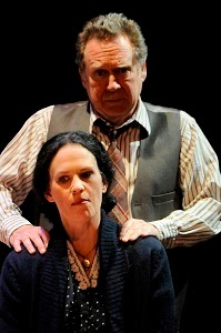 Chris Kendall (Stipan, Alma's Father) and Karen LaMoureaux (Alma's Mother)