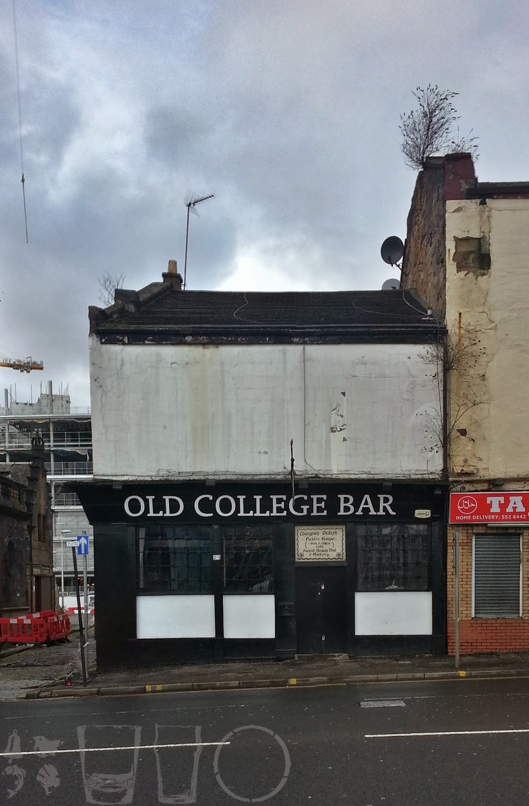 Old College Bar, Glasgow