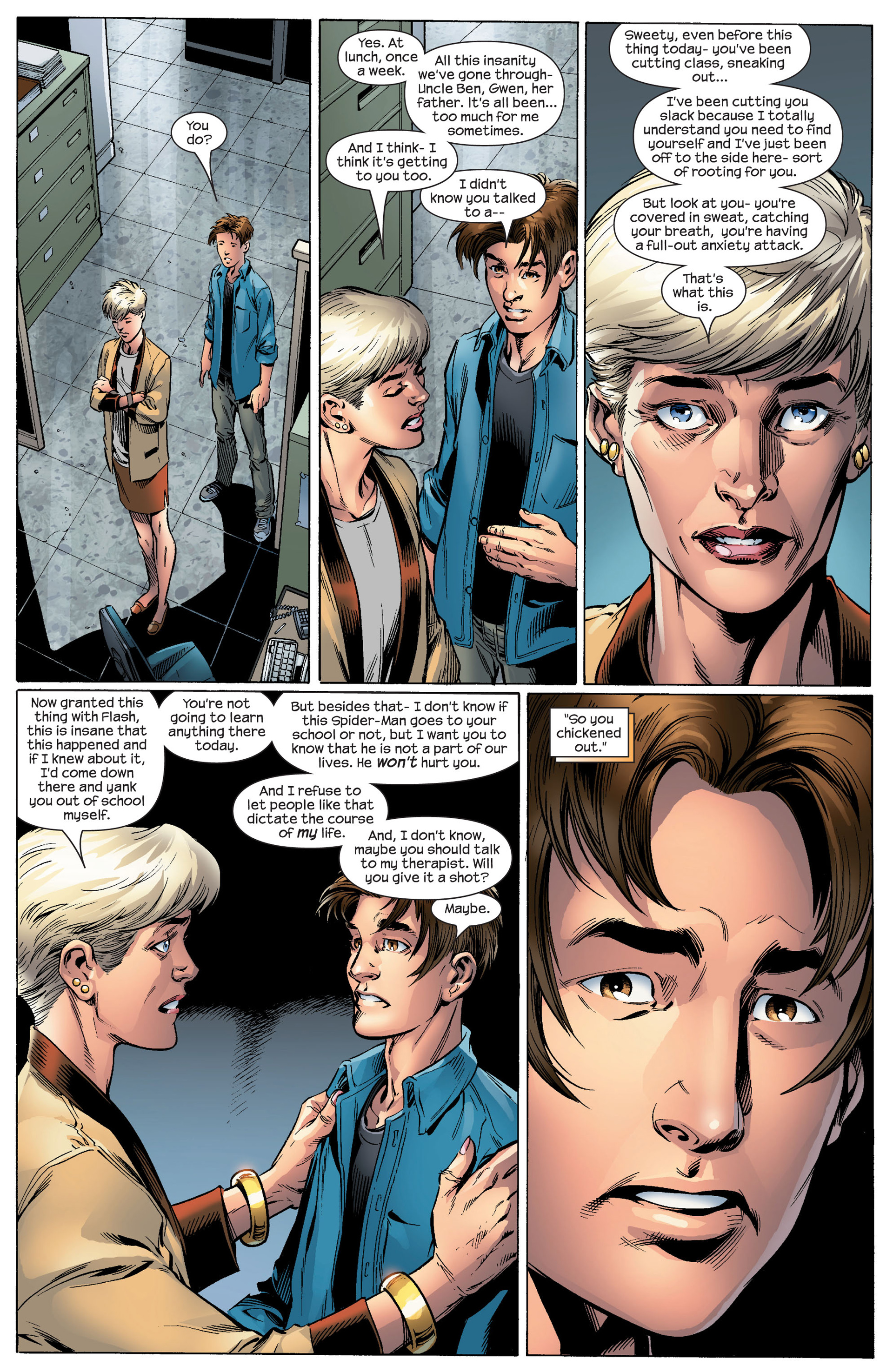 Ultimate Spider-Man (2000) Issue #88 #92 - English 11