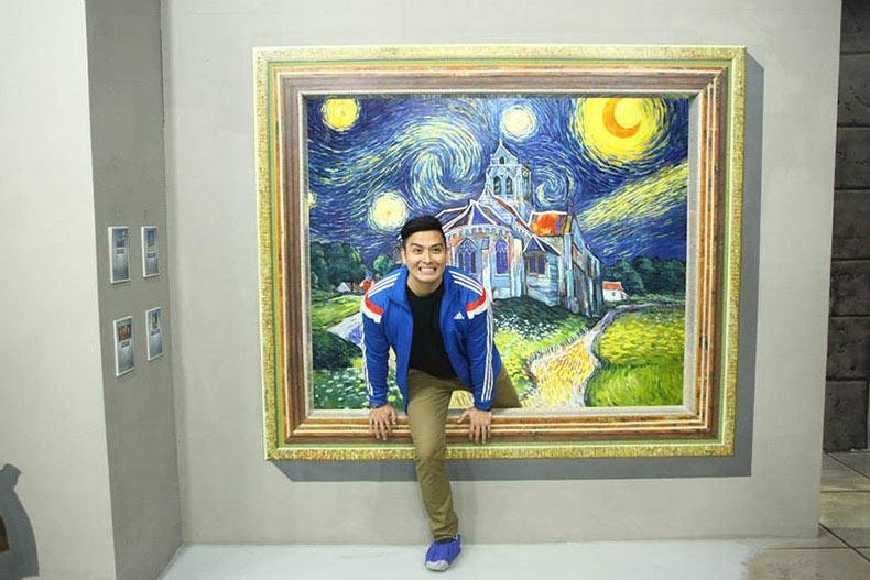 Museo de Arte interactivo en 3D en Filipinas te permite dar un paso dentro de las pinturas