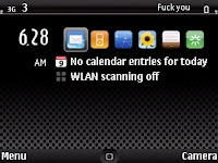 I-phone dark Themes Symbian S60v3 By Dsma