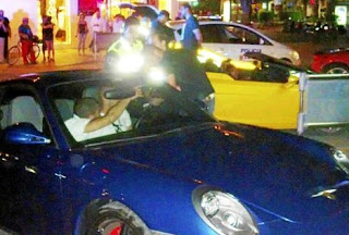 Benzema was fined by Ibiza police