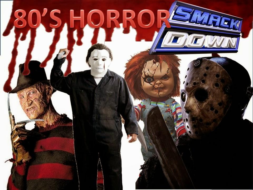 80's HORROR SMACKDOWN!!! Freddy Vs Jason Vs Chucky Vs ...