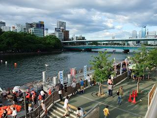 天神祭奉納 2011 日本国際ドラゴンボート選手権が大川で開催!