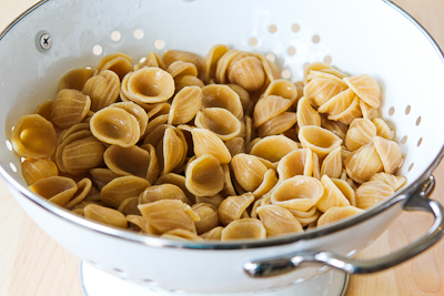 Whole Wheat Orecchiette Pasta Salad Recipe with Roasted Asparagus, Red ...