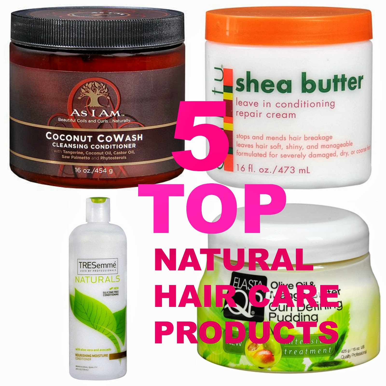 Inexpensive Natural Hair Products