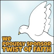 "PROUD TO SPONSOR ""TWIST OF FAITH"" CHALLENGE BLOG"
