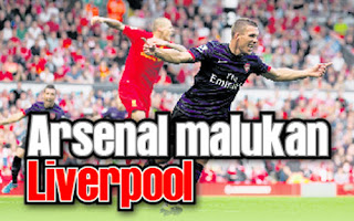 Arsenal memalukan Liverpool