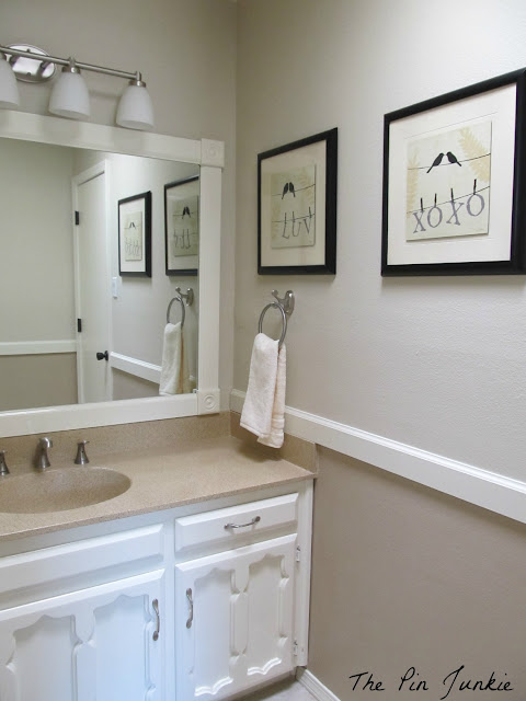 The Pin Junkie: Bathroom Makeover - Reveal!