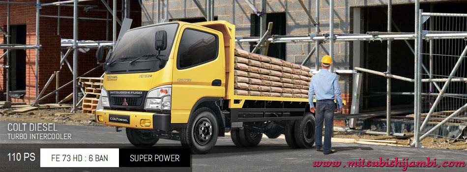 Mitsubishi Colt Diesel Canter FE 73 HD 110 PS Jambi