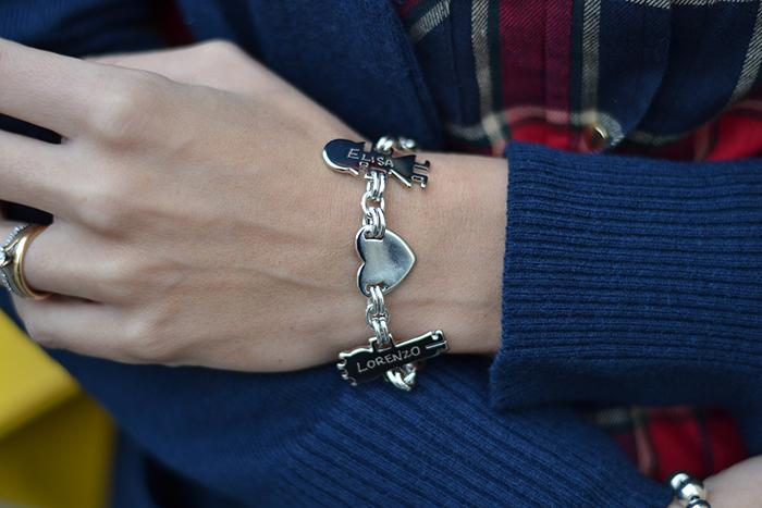 bracciale con charms componibili