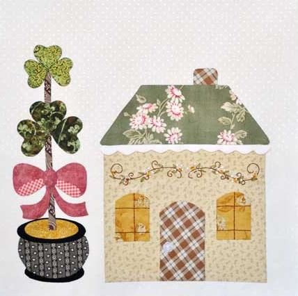Twinkle patchwork country cottage - Casitas de patchwork patrones ...