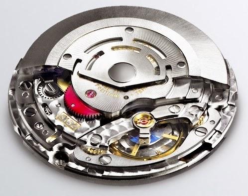 Calibre Rolex 3132