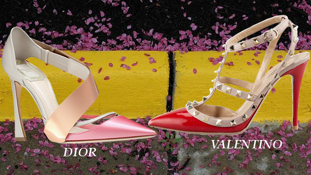 Streetstyle Trends - Dior and Valentino Spring 2013 Shoes