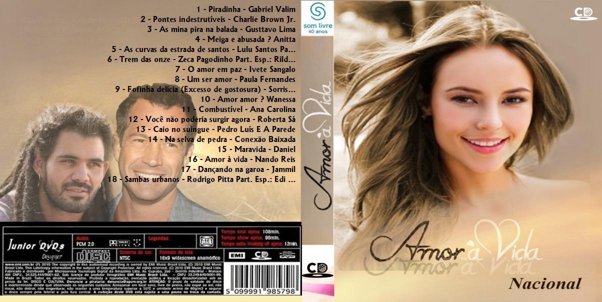CAPA DO CD AMOR A VIDA - JUNIOR DVDSS DESIGNER