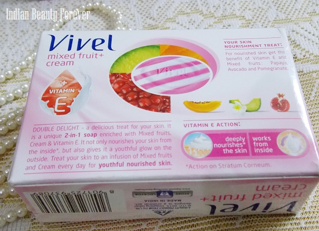 Vivel soaps Mixed fruit and Green tea Review price