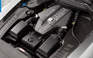 Mercedes sls engine - صور محرك مرسيدس sls