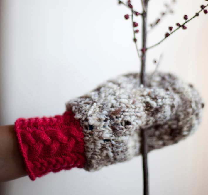 mosgos - Double Knitted Mittens