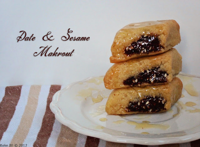 algerian baked makrout recipe | Halal Home Cooking