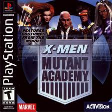 X-Men - Mutant Academy - PS1 - ISO Download