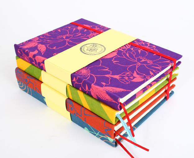 Cuadernos ESTAMPADOS a mano