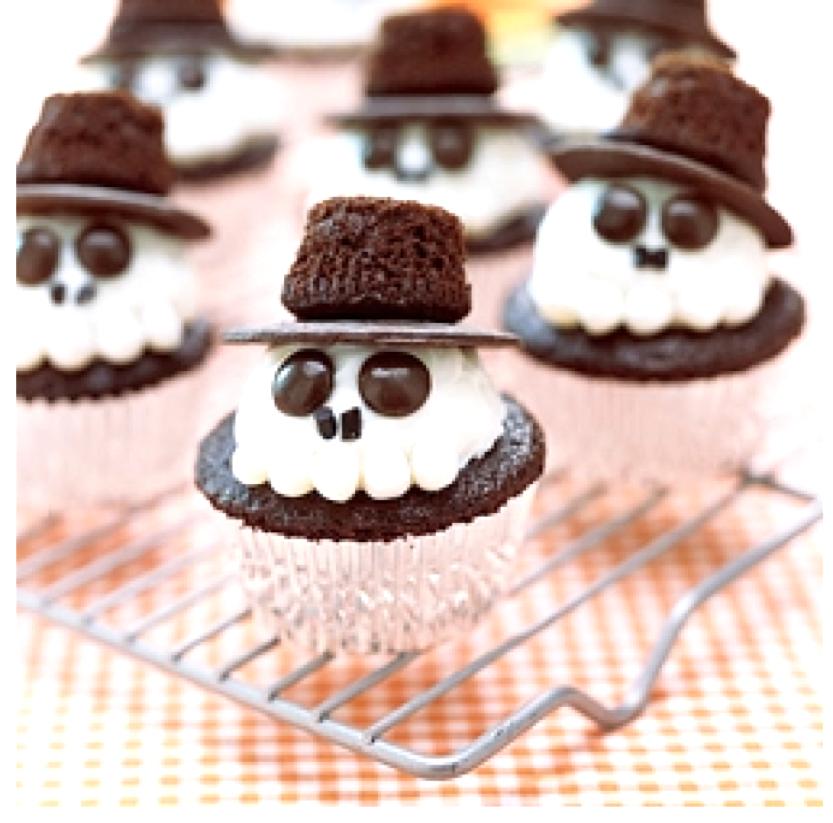 ricetta e ricette come fare i cupcakes di halloween