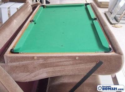 Gabungan Sofa Dan Meja Snooker