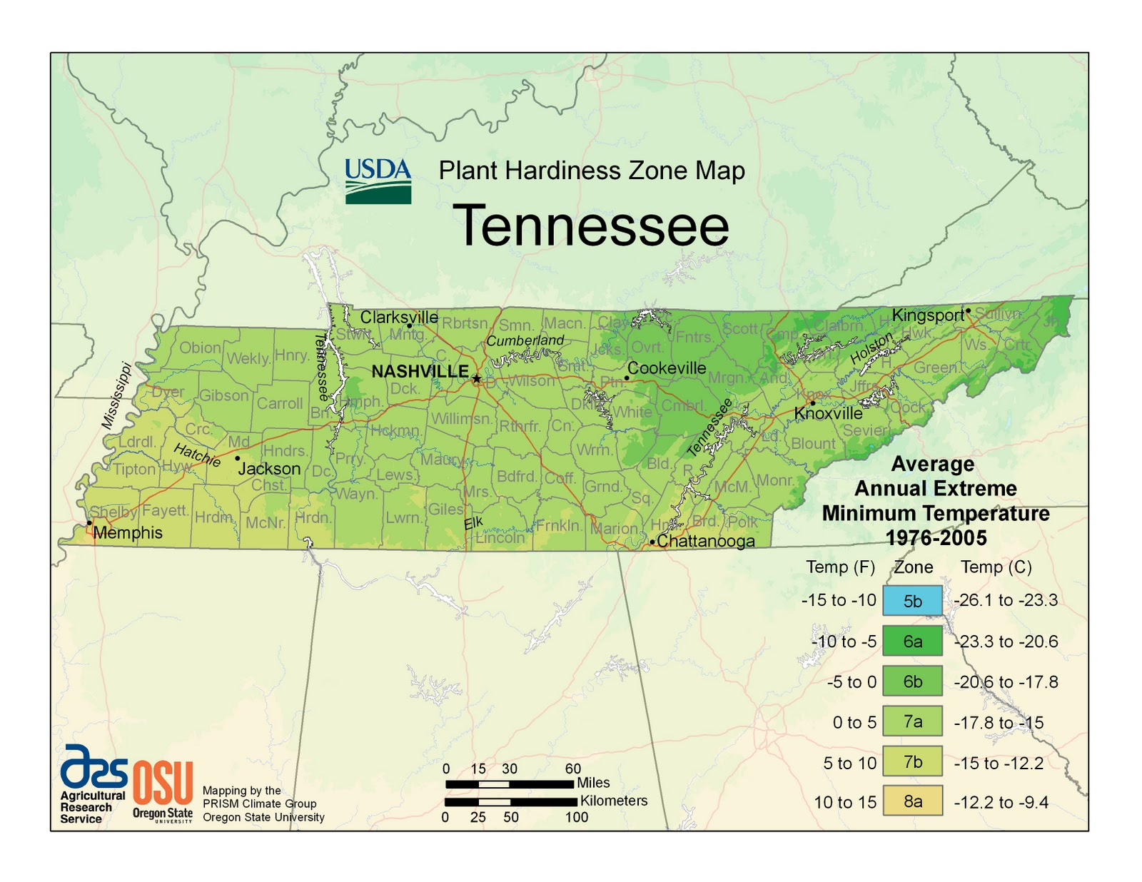 2012 USDA Plant Hardiness Zone Map - Growing The Home Garden