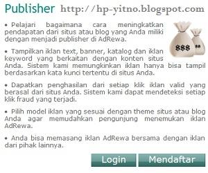 cara register adrewa.com