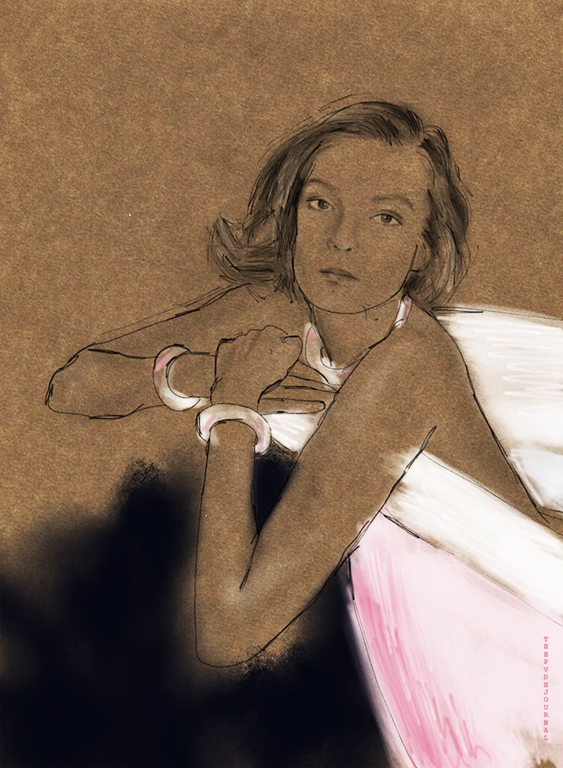 fashion illustration, The PVDH Journal