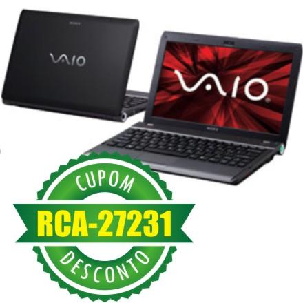 Cupom Efácil - Notebook Sony Vaio VPCYB45JB/B LED 11.6