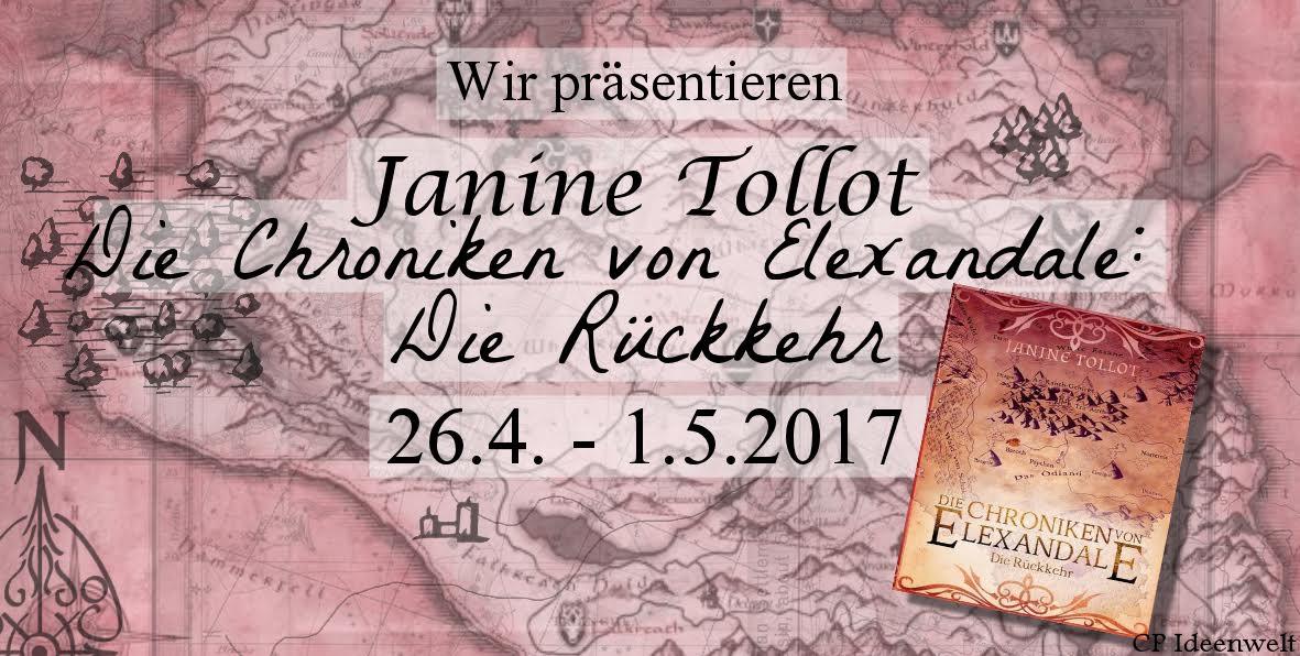 Blogtour - Die Chroniken von Elexandale: Die Rückkehr (26.04. - 01.05.2017)