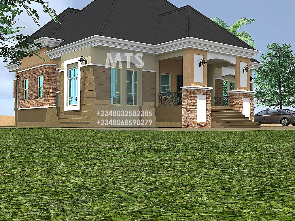 Ibekwe 5 bedroom bungalow residential homes and public for 5 bedroom bungalow designs