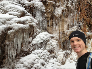 The Trail Effect: Icicles along the Grouse Grind