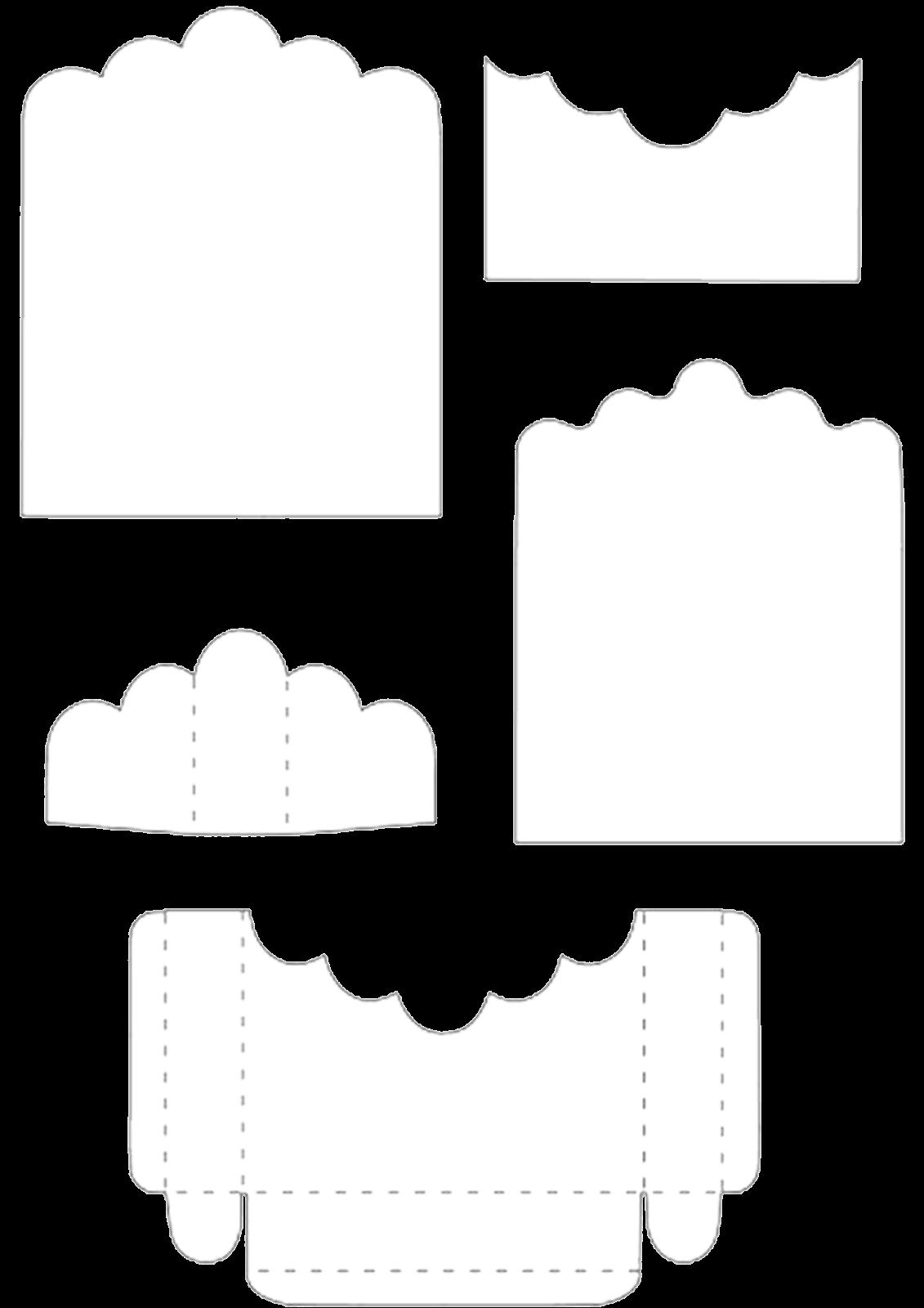 Caja abierta para sets de golosinas