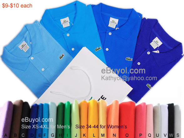 shirt polo All colours lacoste Fashion About xq8TTw4Av